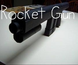 Pump-Action Rocket Gun