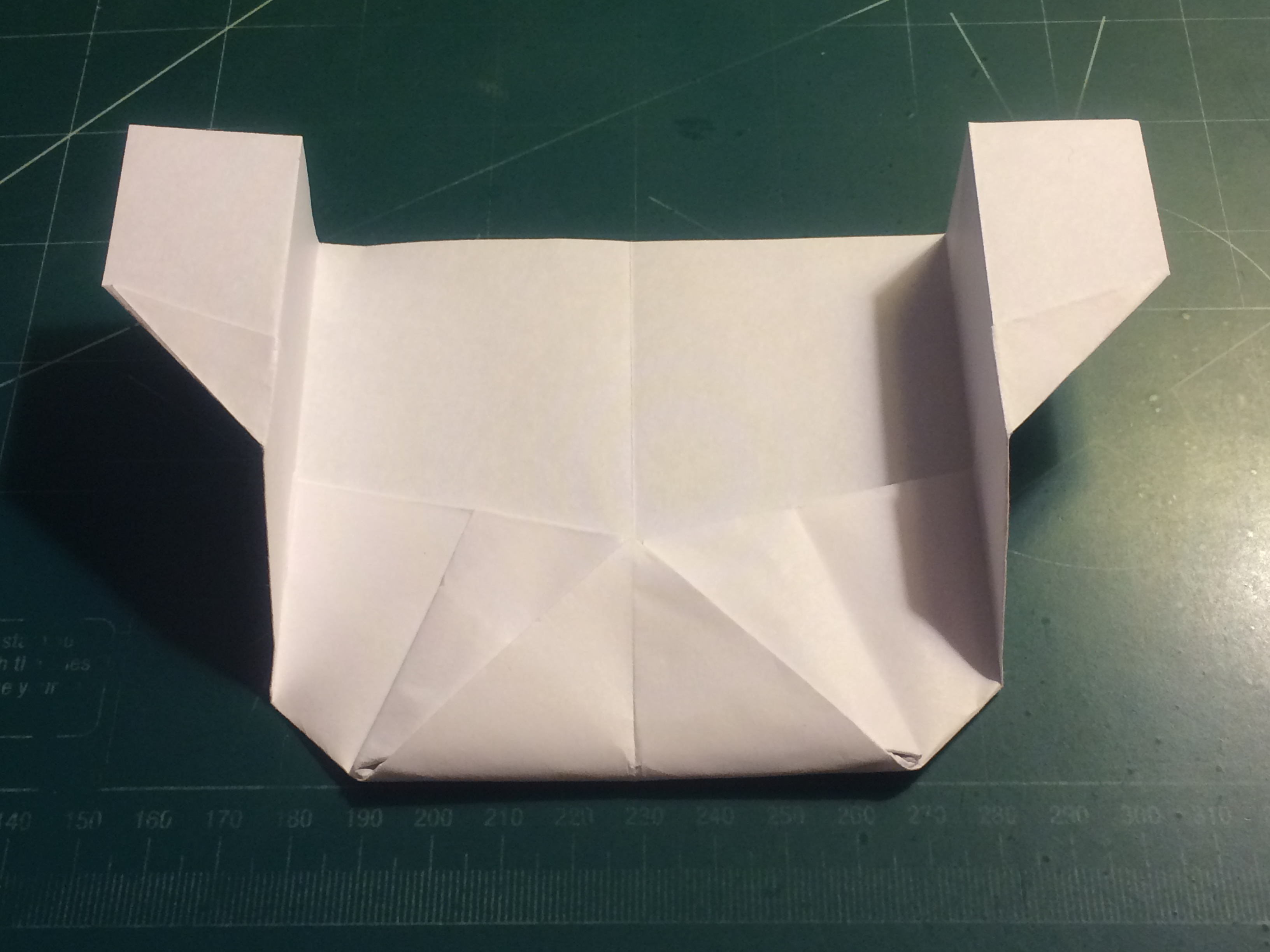Picture of How to Make the Grasshopper Paper Airplane