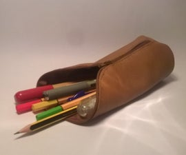 Easy Leather Pencil Case