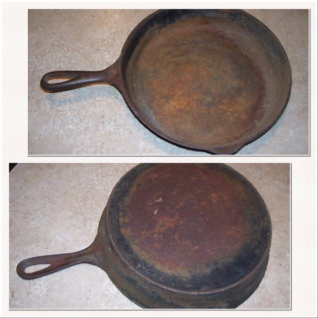 Picture of Don't Throw Out That Ugly Cast Iron Skillet