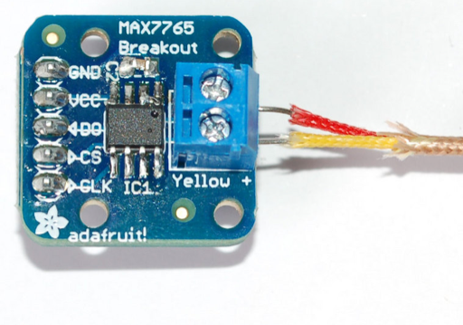 Picture of The Circuit- Thermocouple and MAX31855 Breakout