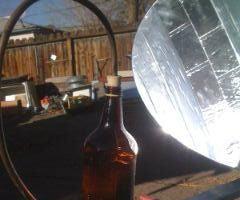 Build a Simple Parabolic Solar Still