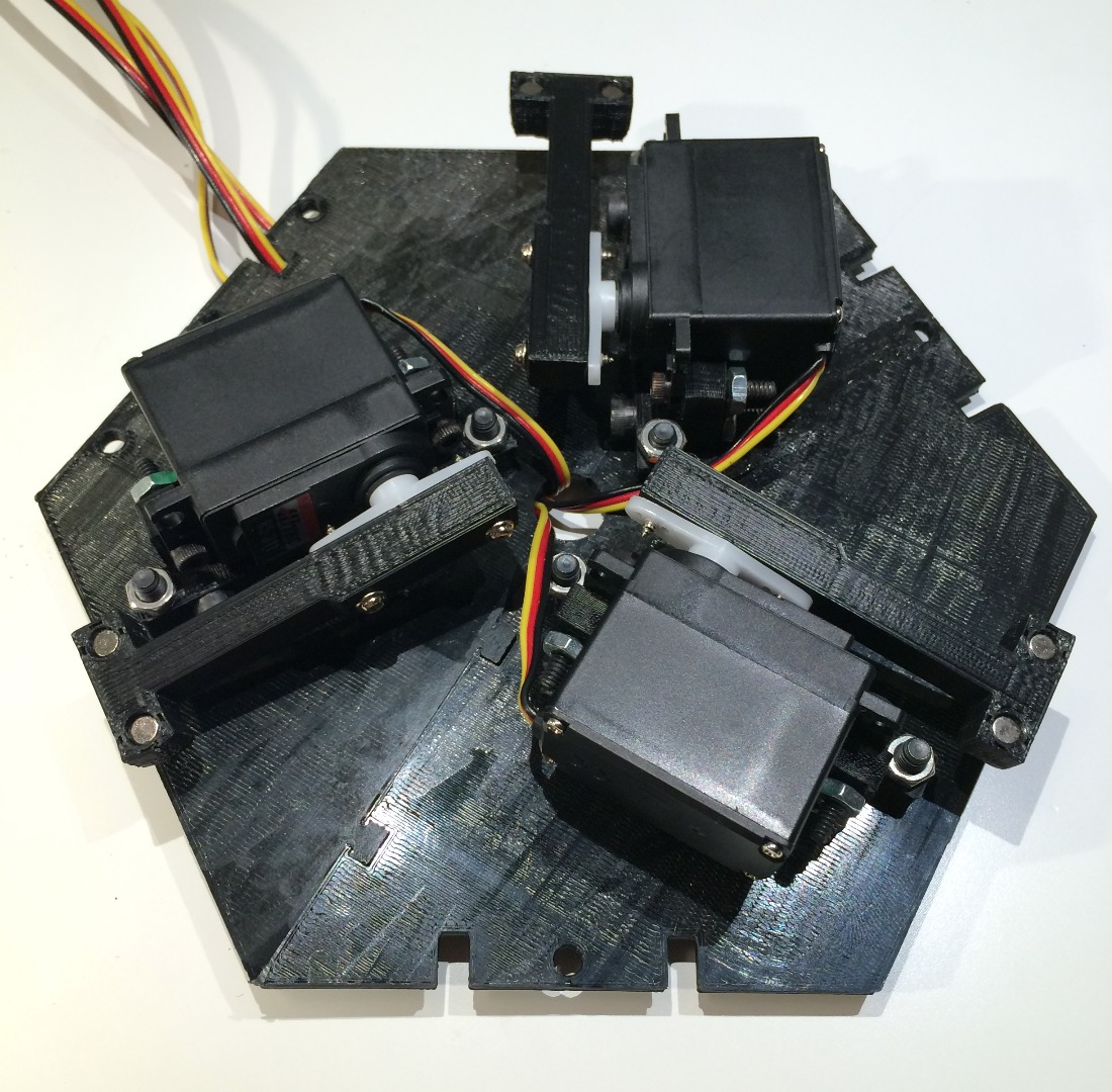 Picture of Tapster 2.0: Attach Servos to Top Section