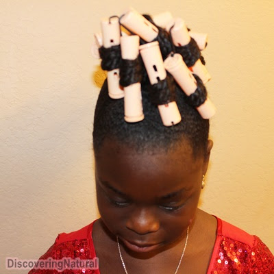 Picture of Step 1: Section Hair and Twist