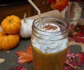 Healthy Pumpkin Pie Smoothie