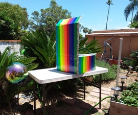 Rainbow Solar Box Cooker