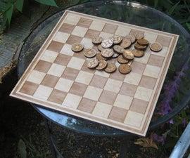 Laser Cut Checker Board