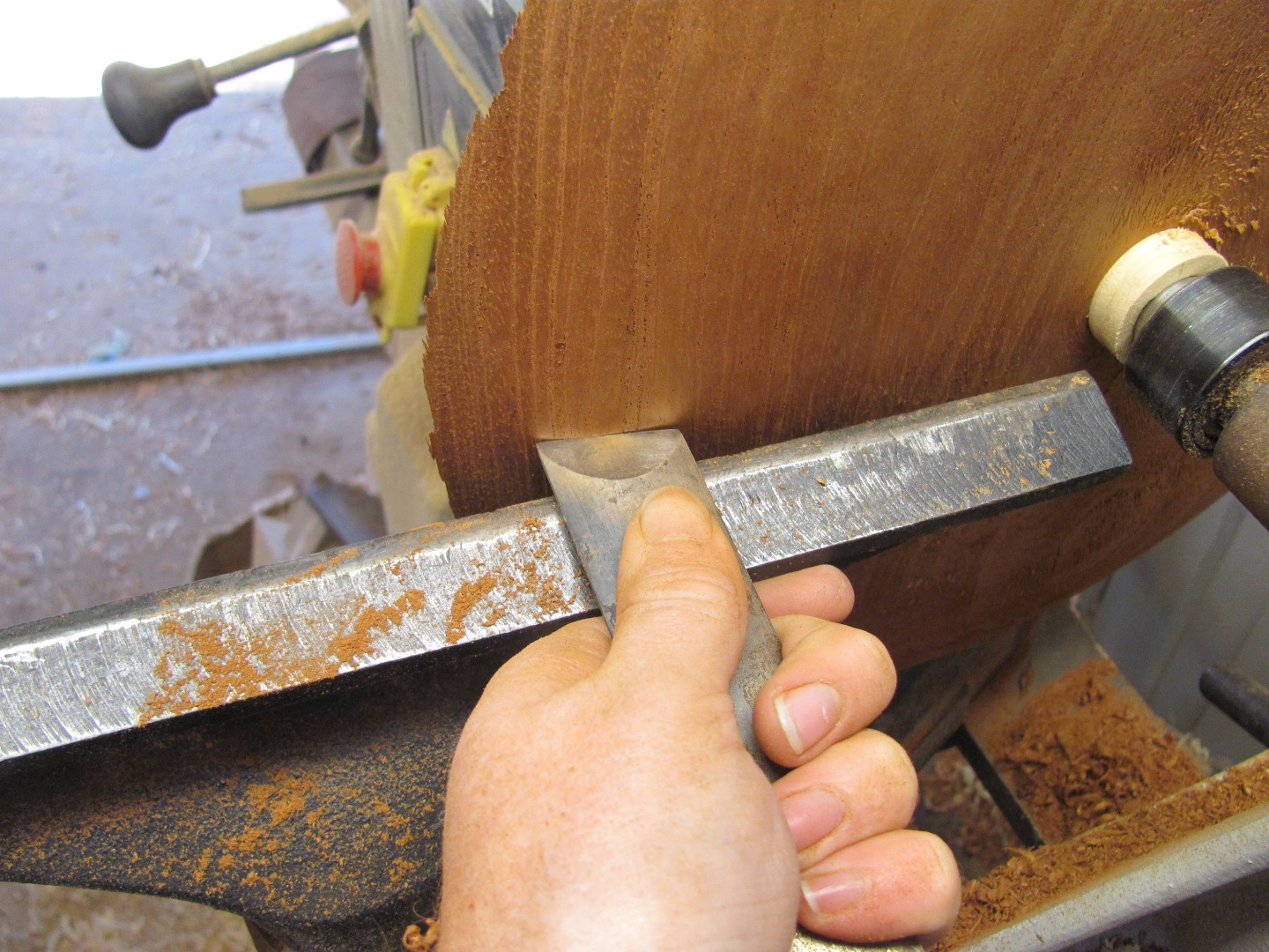 Picture of Turning the Back of the Platter