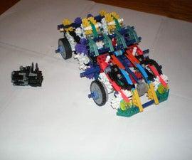 Knex Barricade/Frenzy transformer combo build