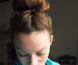 Stylish Braided Hair Bun