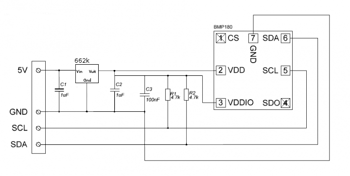 Picture of Adding the BMP180 to the ESP8266