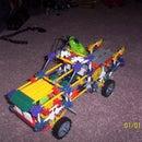 knex cyber truck