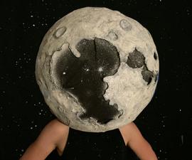 Moon (toilet Paper Mâché)