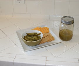 Crackers and Jalapeno Snack