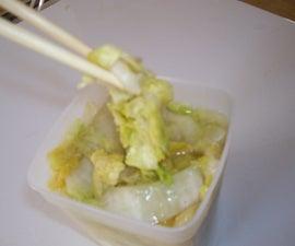 Tsukemono / Hakusai no Shiozuke / Japanese Pickled Cabbage