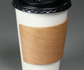 How to Make a Bent Ply Coffee Cup Holder