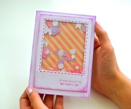 Shaker Card