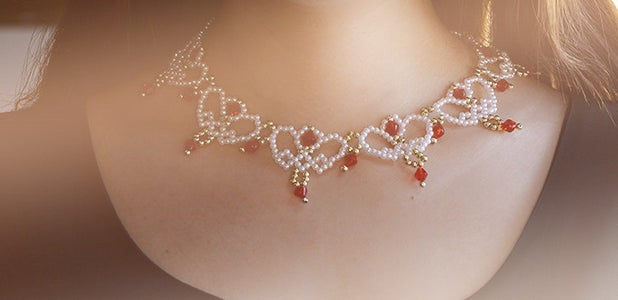This Is the Final Look of This Elegant Pearl Necklace.