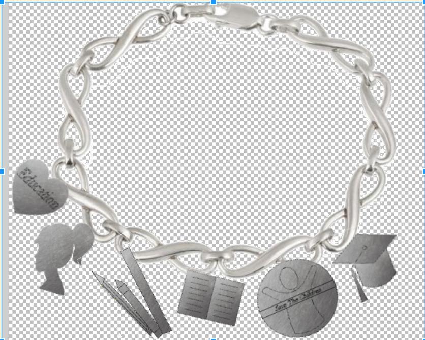 Picture of Charm Bracelet Jewellery Design - Emma