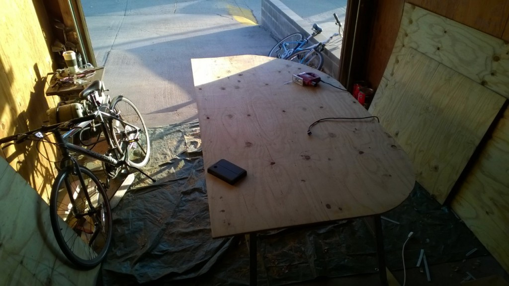 Picture of Cutting and Shaping the Walls