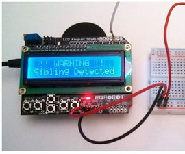 Motion Detector With Alarm & Message Using Arduino Microcontroller