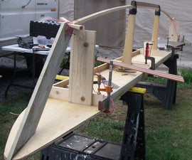 Skin-On-Frame Outrigger Sailing Canoe.  Chapter 1: Deck, Keel and Cockpits