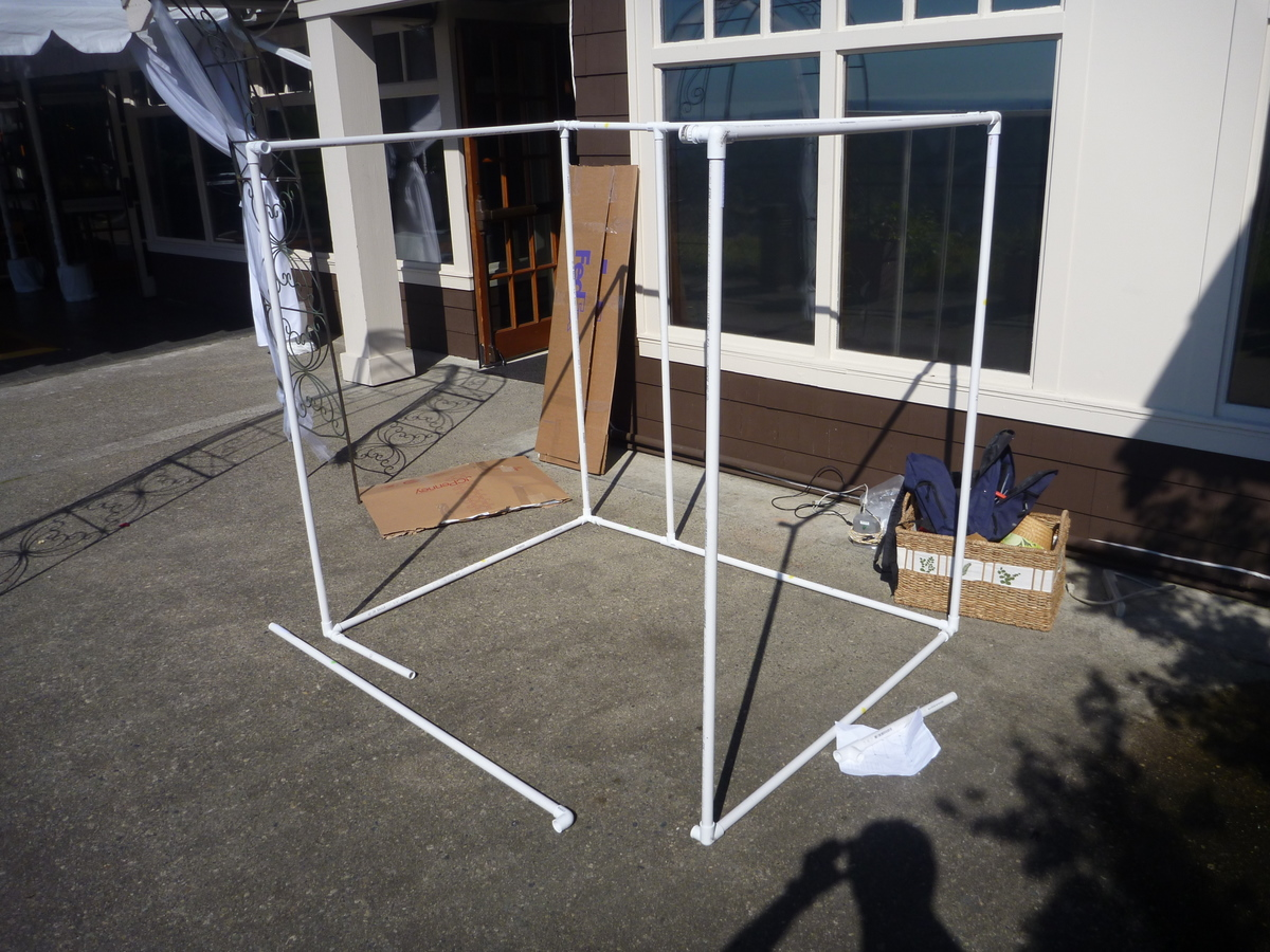 Picture of Building the Photobooth Structure
