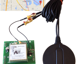 Cellular GPS tracker with Cloud Maps