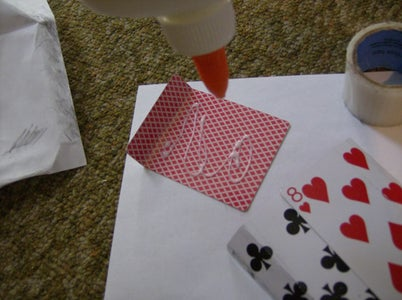 Arrange and Glue the Pieces You Just Folded.