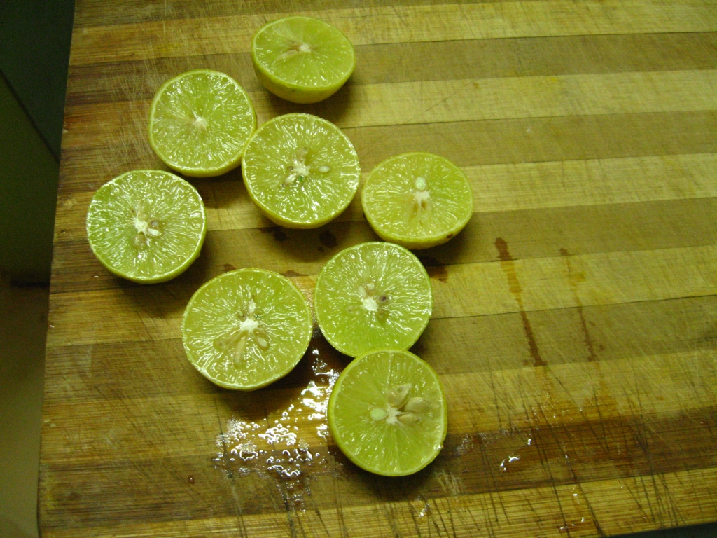 Picture of Lemon Juice Mixed With Curd