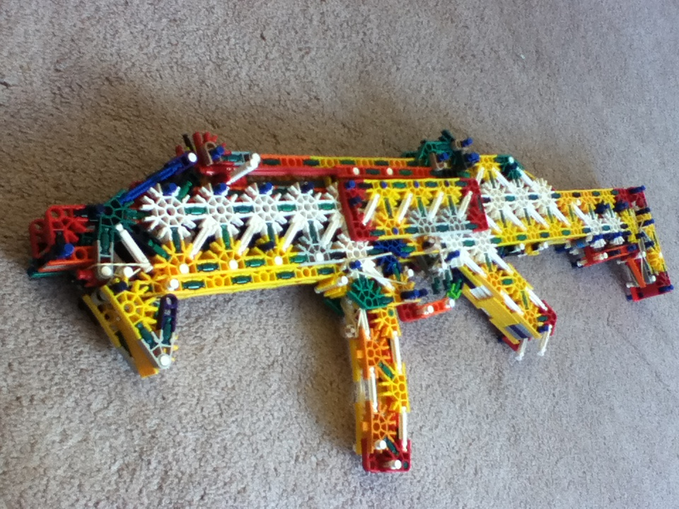 Picture of Knex Skorpion Evo III (Instructions)