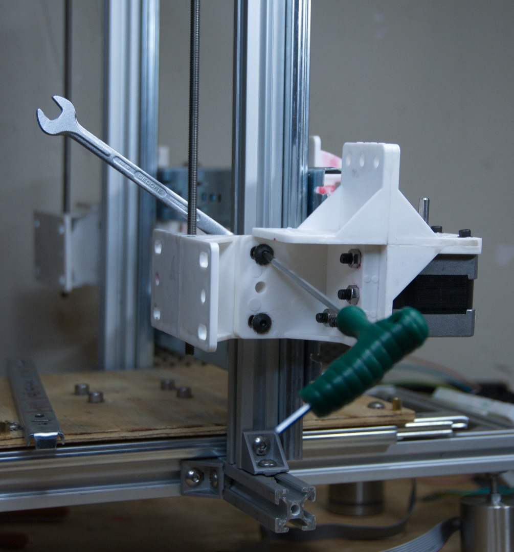 Picture of Z-axis Assembly and Alignment