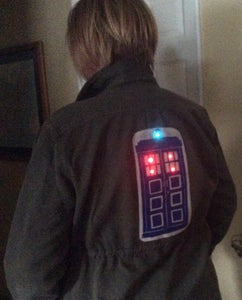 Add the Battery and Wear Your TARDIS Jacket With Pride