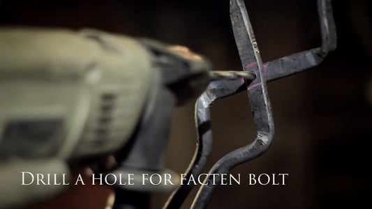 Drilling a Hole and Fastening a Bolt