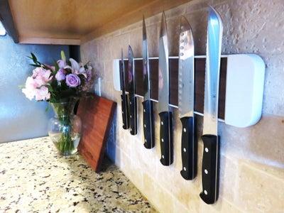 Magnetic Knife Rack - 3D Printing Build