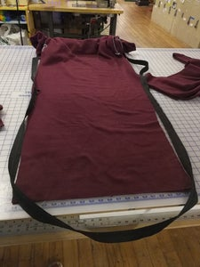 Sew Zipper on to Front