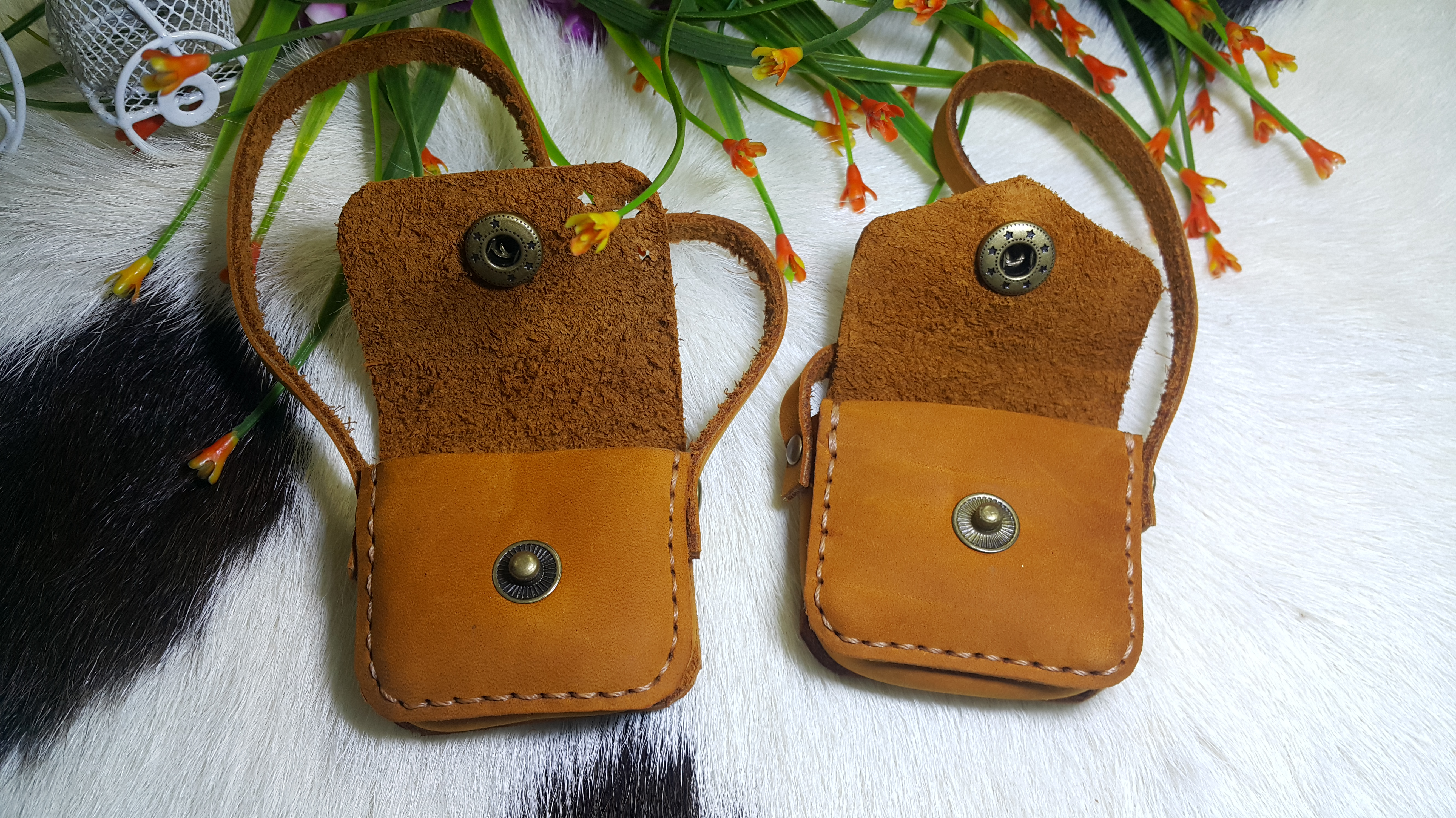 Picture of DIY - Doll Leather Messenger Bag