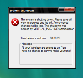 Writing the Shutdown Script
