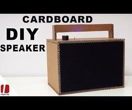 Cardboard Bluetooth Speaker
