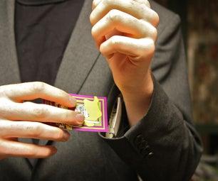 Hidden Sleeve Business Card Dispenser