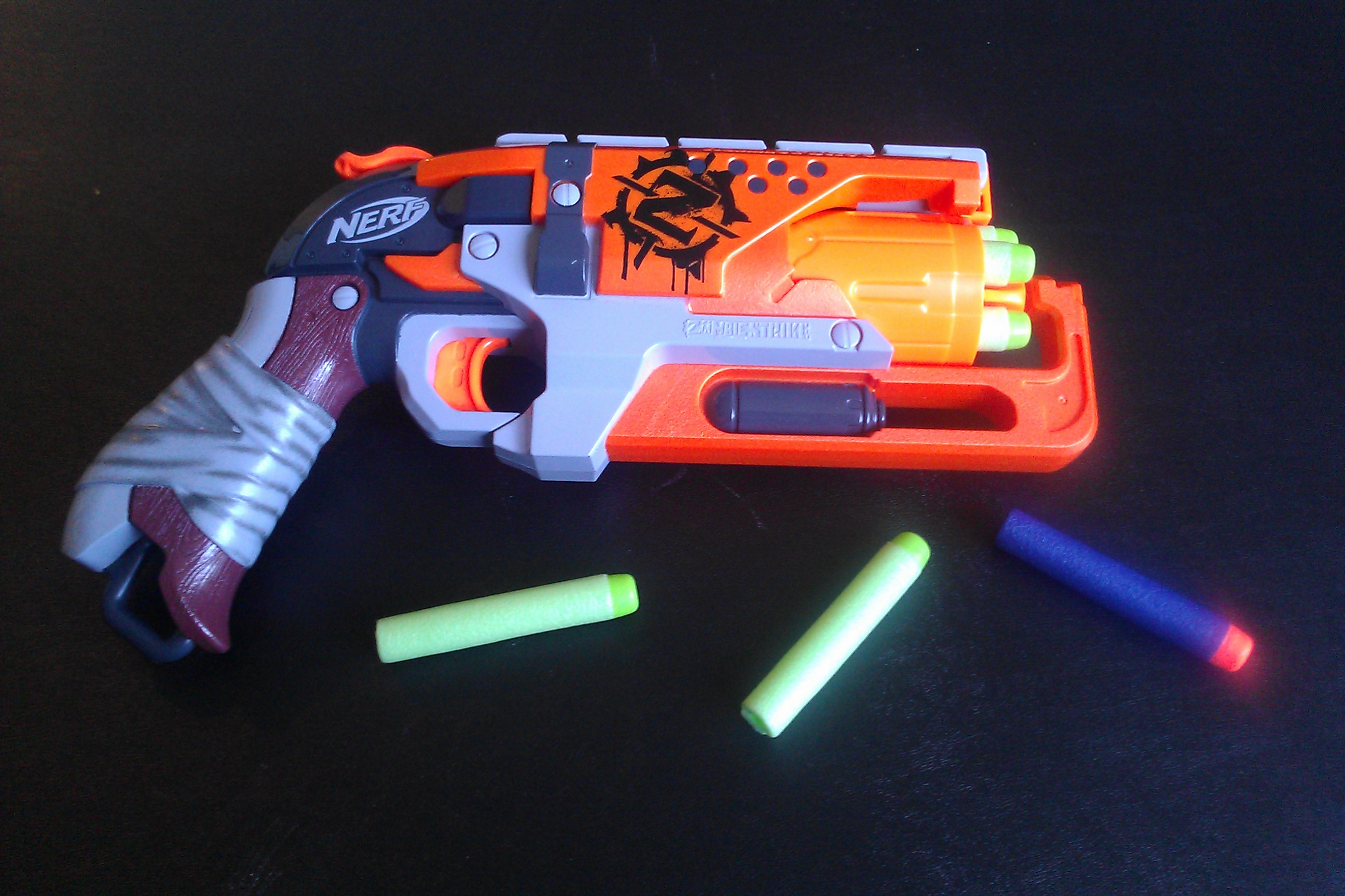Three Tips and Tricks With the Nerf ZombieStrike Hammershot