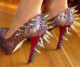 D.I.Y. Sexy Spikey Pumps (High Heels)
