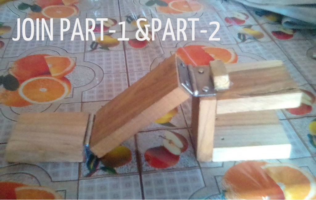 Picture of NOW WE ATTACH WHAT EVER WE MAKE IN STEP 6 TO TABLE.