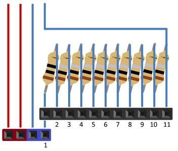 Multiple Resistors