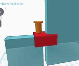 How to instantly fix a broken public restroom stall door with 3d printing