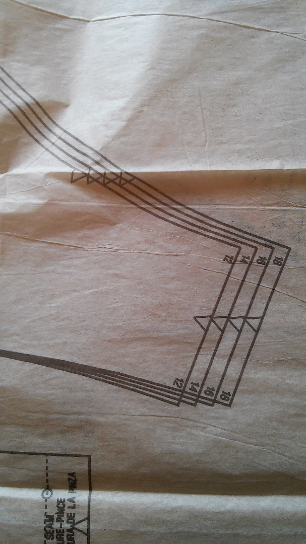 Picture of Pattern Piece