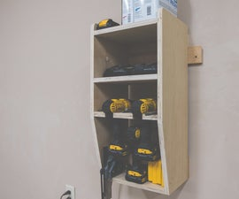 Quick & Easy Drill Charging Station