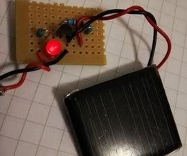 Simple Light Sensor With an LED (Analog)
