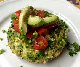 Single-Serve Veggie Frittata (Paleo friendly)
