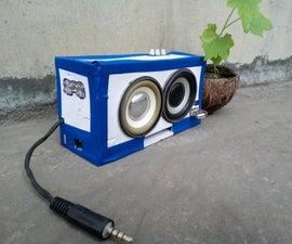 Diy Power Bank Cum Speaker and Torch